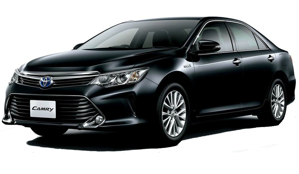 almaty toyota camry 50 sedan car rental, hire with a driver