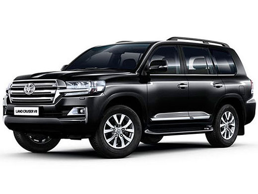 Almaty toyota land cruiser 200 luxury suv rental, hire with a driver